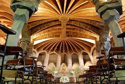 アントニ・ガウディコロニア・グエル教会地下聖堂